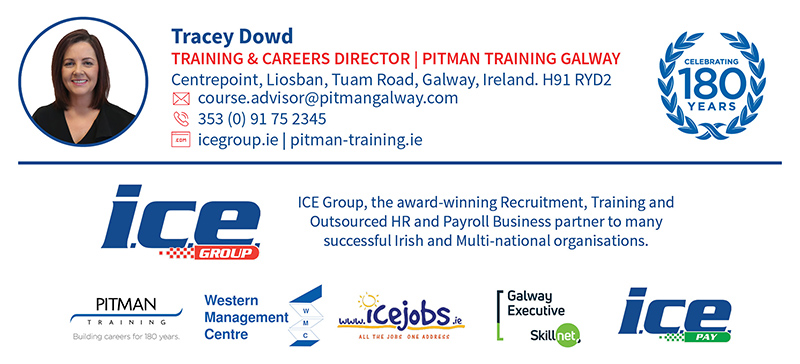 Tracey Dowd | ICE Group | Pitman Training Galway